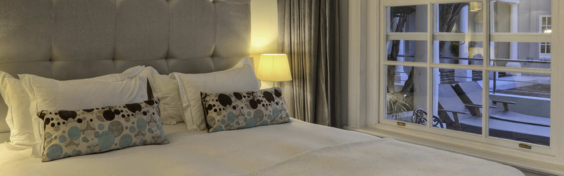 Central   Cape Towm  Accommodation   The Three Boutique Hotel Luxury Double